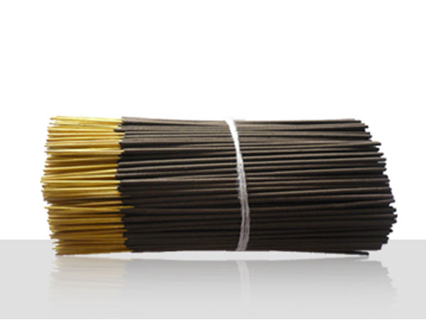 Raw incense stick charcoal 8''